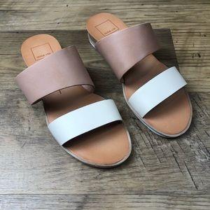 Dolce Vita Pris Low Wedge Slip on Sandal